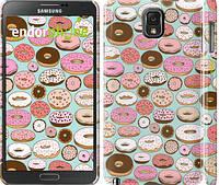 "Чехол на Samsung Galaxy Note 3 N9000 Пончики в глазури ""2876c-29"""