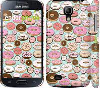 "Чехол на Samsung Galaxy S4 mini Duos GT i9192 Пончики в глазури ""2876c-63"""