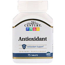 """Антиоксиданты, 21st Century """"Antioxidant"""" (75 таблеток)"""
