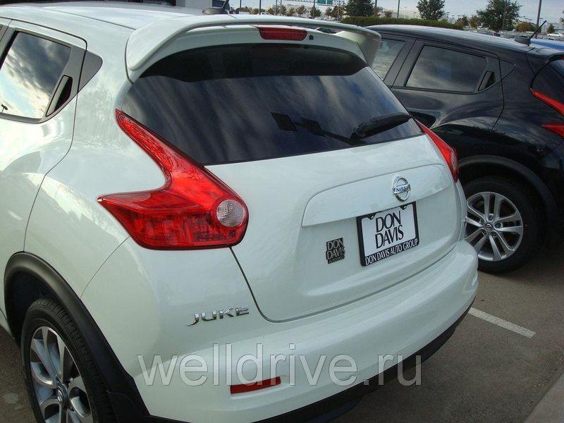 Спойлер Nissan Juke білий (колір)