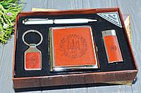 Подарочный набор для мужчины с портсигаром