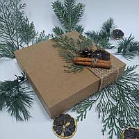 Коробка подарункова 160х160х35 мм., фото 1