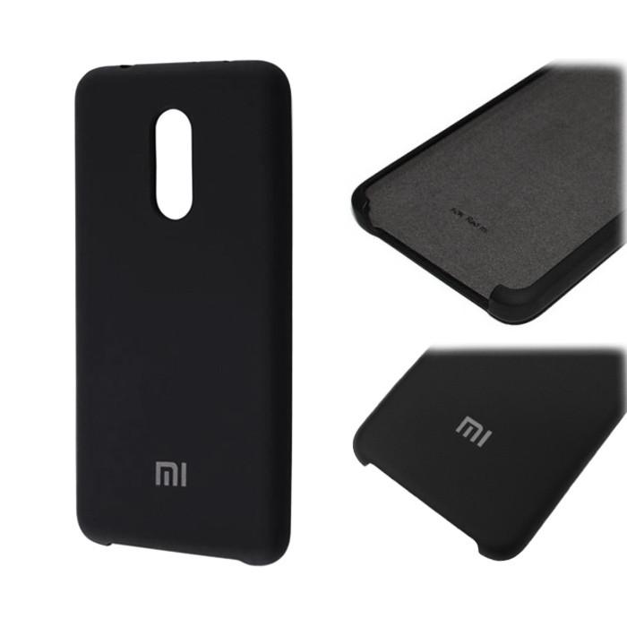 Чехол Silky Soft Silicone Case для Xiaomi Redmi Note 4 / Note 4X