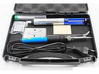 Паяльний набір в кейсі WEP 947-II (паяльник 60W, жала 900M , інструменти та витратні матеріали), фото 5