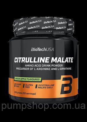 Цитрулин малат BioTech USA Citrulline Malate 300 г, фото 2