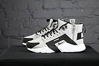 Nike Huarache Winter Acronym 2017 Grey Black White (реплика)