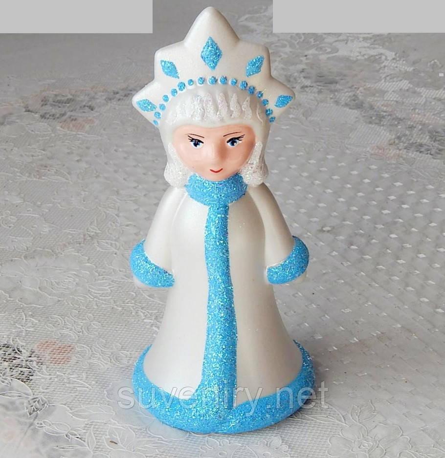 Красивая новогодняя игрушка Снегурочка 25см