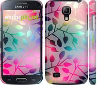 """Чехол на Samsung Galaxy S4 mini Листья """"2235c-32"""""""