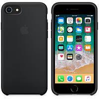 Чехол Apple Silicone Case для iPhone 7/8 Black