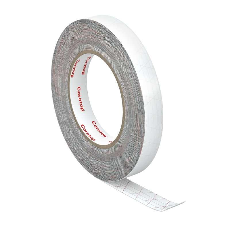 Лента двухсторонняя для проклейки мембран, гидробарьера (склеивания супердиффузионной мембраны) 20мм х 25м