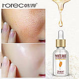 Омолоджуюча сироватка для обличчя з білим рисом Rorec White Rice Skin Bauty Essence (15мл), фото 3