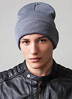 Удлиненная шапка с отворотом унисекс Peri Flip Uni