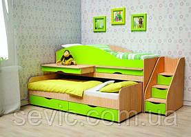 Кровать чердак для двоих детей ЧК 2