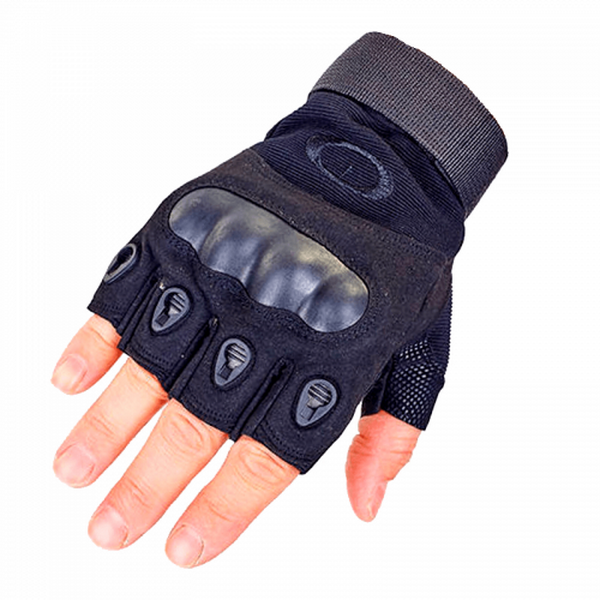 Рукавички без пальців тактичні Oakley (р. M), чорні