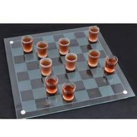 Алкогольная игра шашки - рюмки 40х40см Wistmart (GB00279)