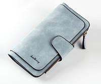 Женское портмоне Memos Baellerry Forever голубой 25131