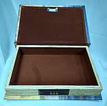 Шкатулка книга-сейф на кодовом замке, лев, фото 4