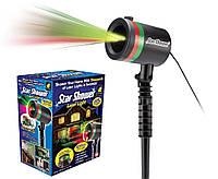 Лазерный проектор гирлянда установка Star shower Laser Light