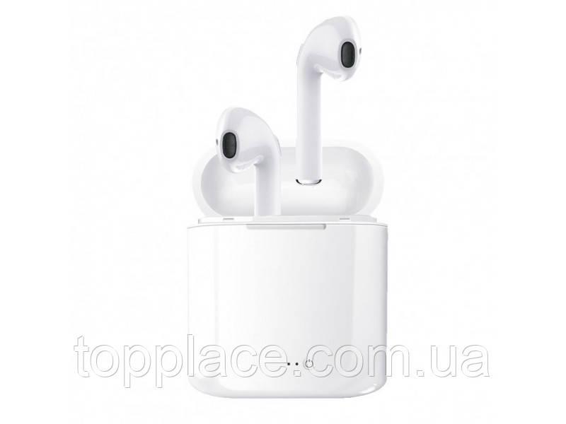 Беспроводные Bluetooth наушники I7S TWS, White (G101001162)