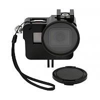 Рамка алюминиевая для GoPro Hero 5, 6, 7 + UV фильтр