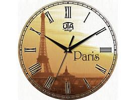 Часы настенные круглые Париж 110-1083236
