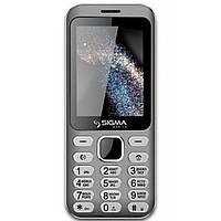 Мобильный телефон Sigma X-style 33 Steel Dual Sim Grey (4827798854914)