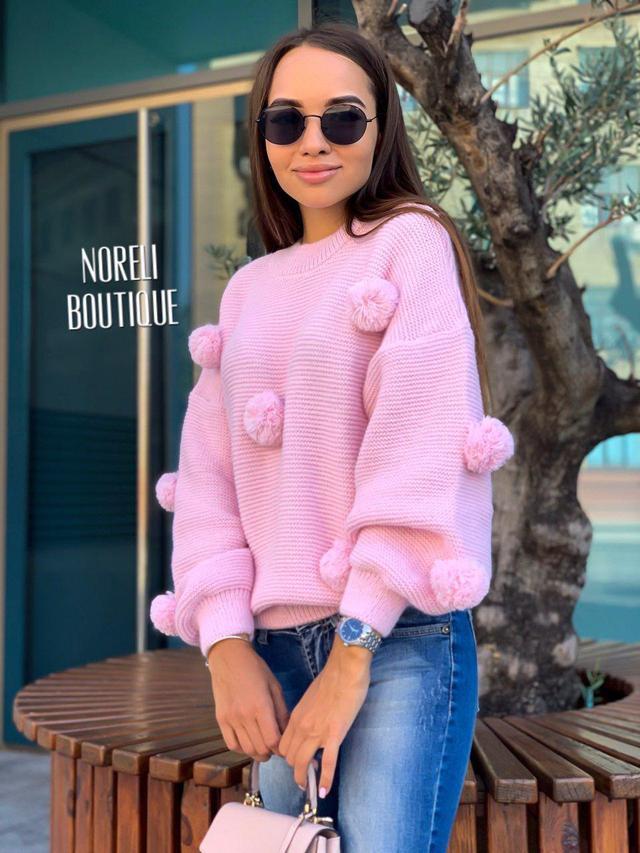 свитер женский  вязанный