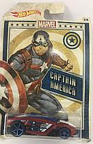 Машинка  Hot Wheels Captain America Rogue Hog