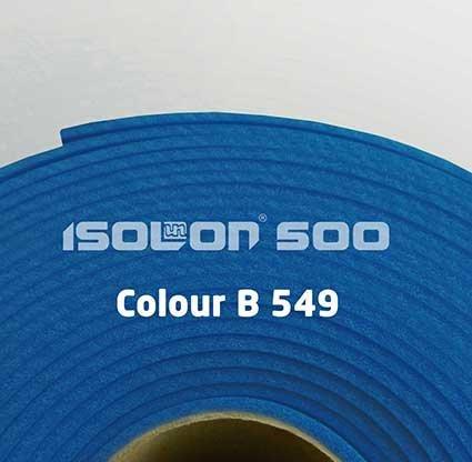 Изолон 500 ППЕ  2 мм ,васильковый