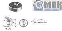 DIN 547 Гайка круглая с двумя торцевыми отверстиями