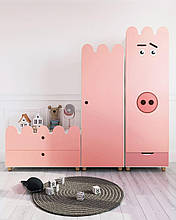 Комплект детской мебели Семейство хрюшек Lakki