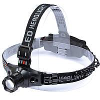 Налобный фонарь HL-1804 (Cree Q5, 160 люмен, 3 режима, 1x18650/3xAAA), комплект