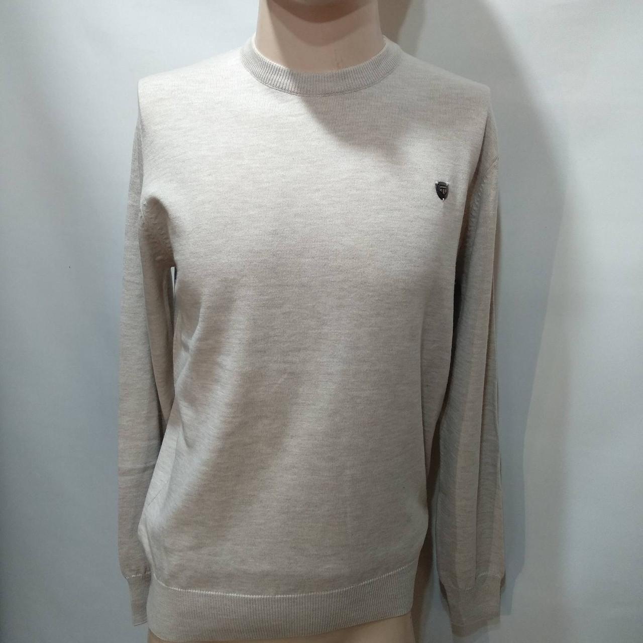 Мужской свитер / бежевый