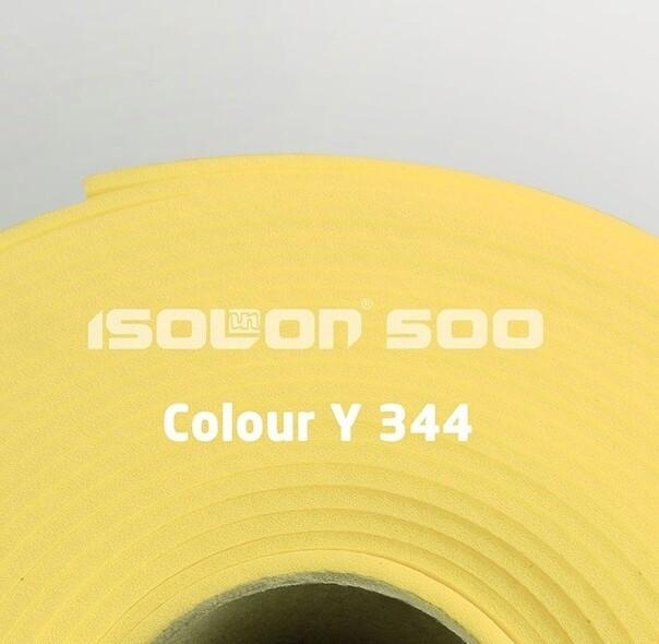 Изолон 500 ППЕ  2 мм, лимонный