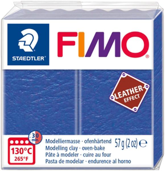 Пластика Leather-effect, Индиго, 57 грамм, Fimo
