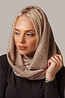 Модный шарф-снуд женский трикотажный в 3х цветах А013