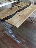 Стіл з епоксидної смоли/ Стол с  эпоксидной смолой, фото 5