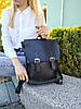 """Вместительный рюкзак для формата А4 черный """"Фурио Black"""""""