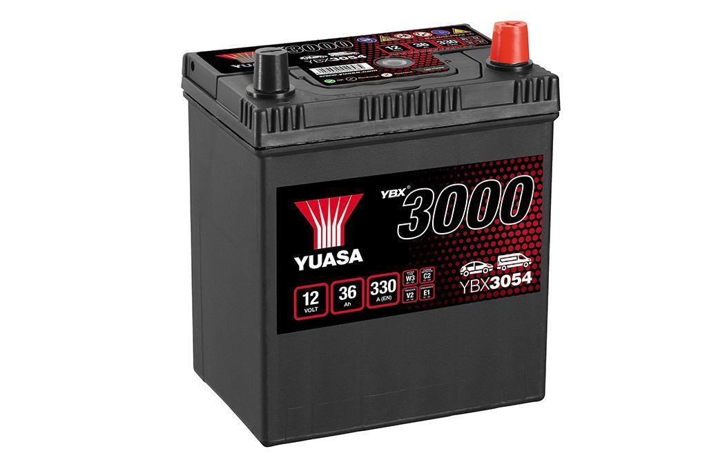 Yuasa 12V 36Ah SMF Battery Japan YBX3054 (0)