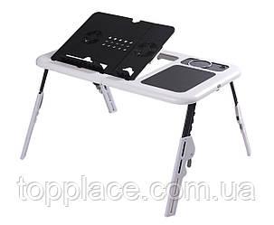 Столик для ноутбука E-Table ColerPad, Black-White (G101001151)