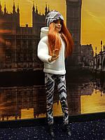 Набір одягу для Барбі Гра з модою - Куртка, легінси, шапка, фото 3