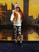 Набір одягу для Барбі Гра з модою - Куртка, легінси, шапка, фото 2