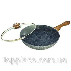 Сковорода Benson BN-544 28 см с крышкой (D1010050026)