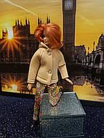 Набор одежды для Барби Игра с модой -  Куртка, легинсы с принтом орнамент, фото 5