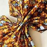 10783-16, павлопосадский платок хлопковый (батистовый) с подрубкой, фото 7