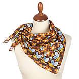 10783-16, павлопосадский платок хлопковый (батистовый) с подрубкой, фото 2
