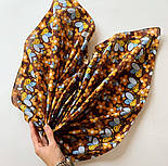 10783-16, павлопосадский платок хлопковый (батистовый) с подрубкой, фото 10
