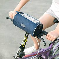 Сумка для велосипеда Genner темно синяя 02017/01, фото 1