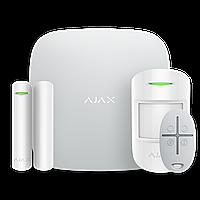 Безпроводная охранная GSM-сигнализация Ajax StarterKit для квартиры, дома, офиса.