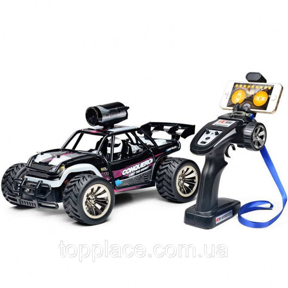 Радиоуправляемая машина RC Cars SuboTech BG1516 с HD-камерой 720P 1:16, Фиолетовый (RM101001137)